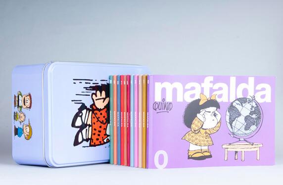 Colección Mafalda: 11 tomos (Edición limitada)