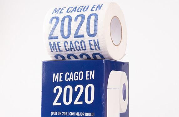 """""""ME CAGO EN 2020"""", el papel higiénico de estas navidades"""