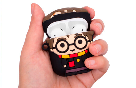 Estuche de carga para Air Pods de Harry Potter