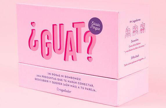 «¿GUAT? Parejas», el juego para conectar con tu pareja