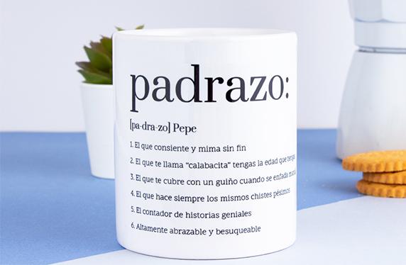 Taza significado diccionario personalizable