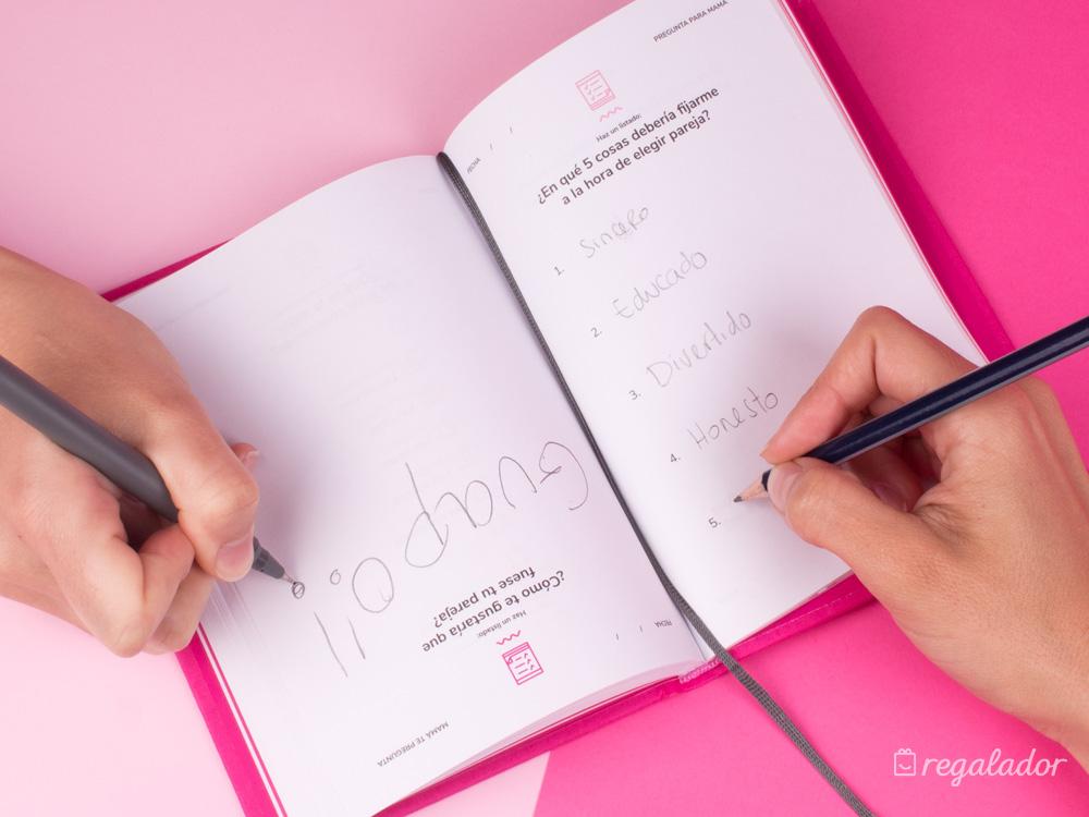 """""""3 minutos con mamá"""": el diario personalizable entre madres e hijos"""
