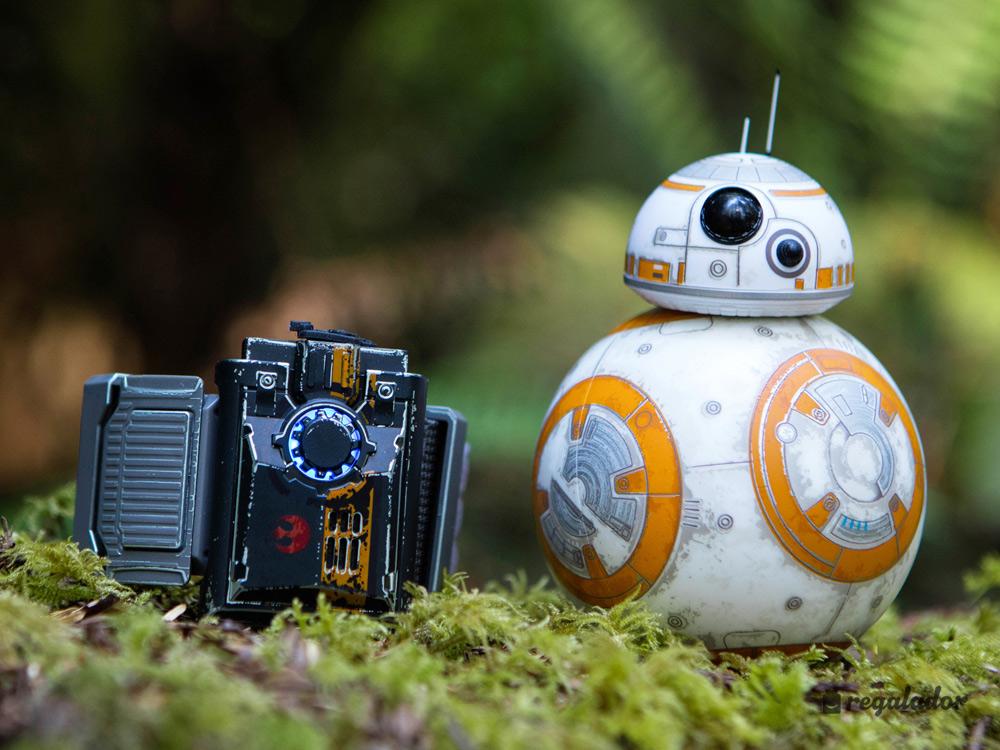 BB-8: el robot controlado por la pulsera Force Band