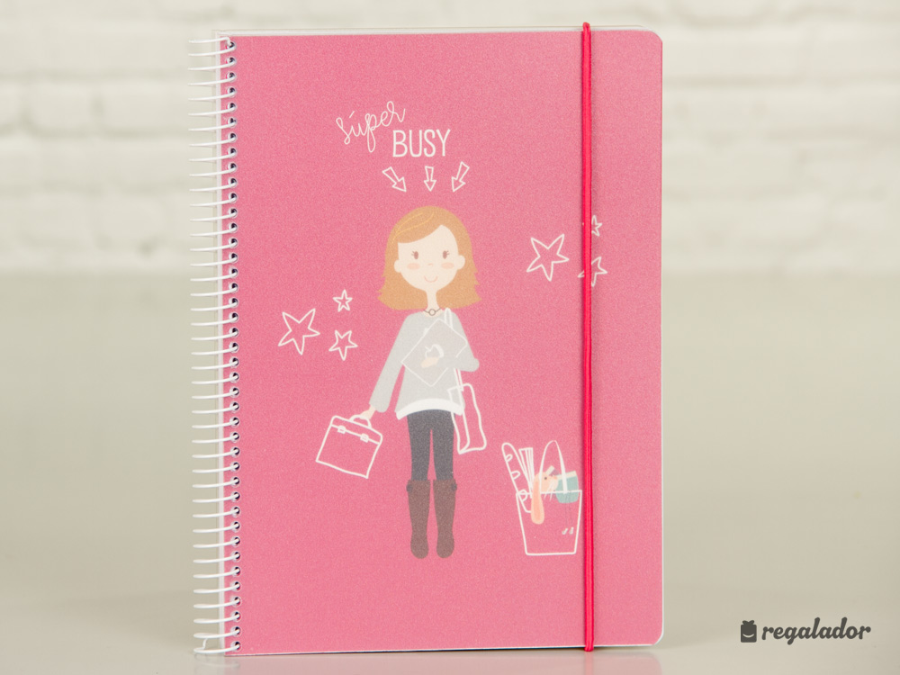 Cuadernos para chicas ocupadas en Regalador.com