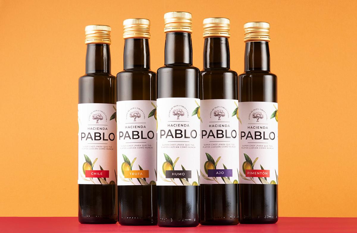 Pack gourmet de aceites personalizados