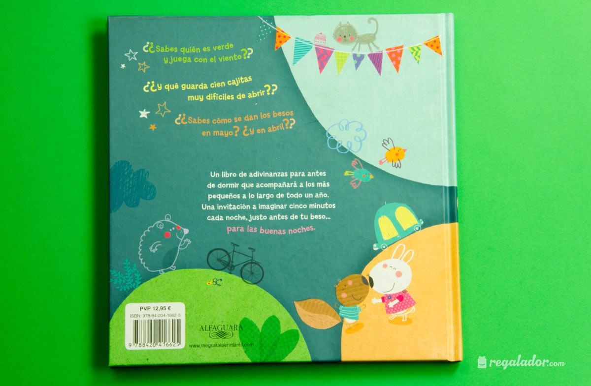 """""""Adivinanzas con beso"""": el libro ideal para las buenas noches"""