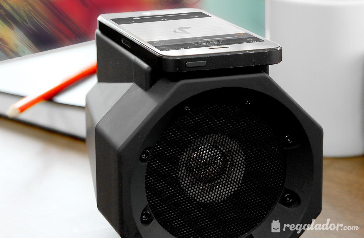 Boom box: el altavoz que funciona sin conexiones en Regalador.com
