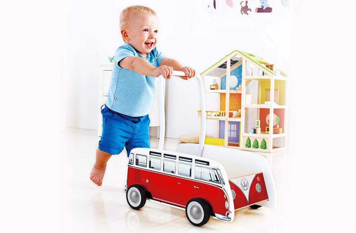 Andador furgoneta hippie de Volkswagen