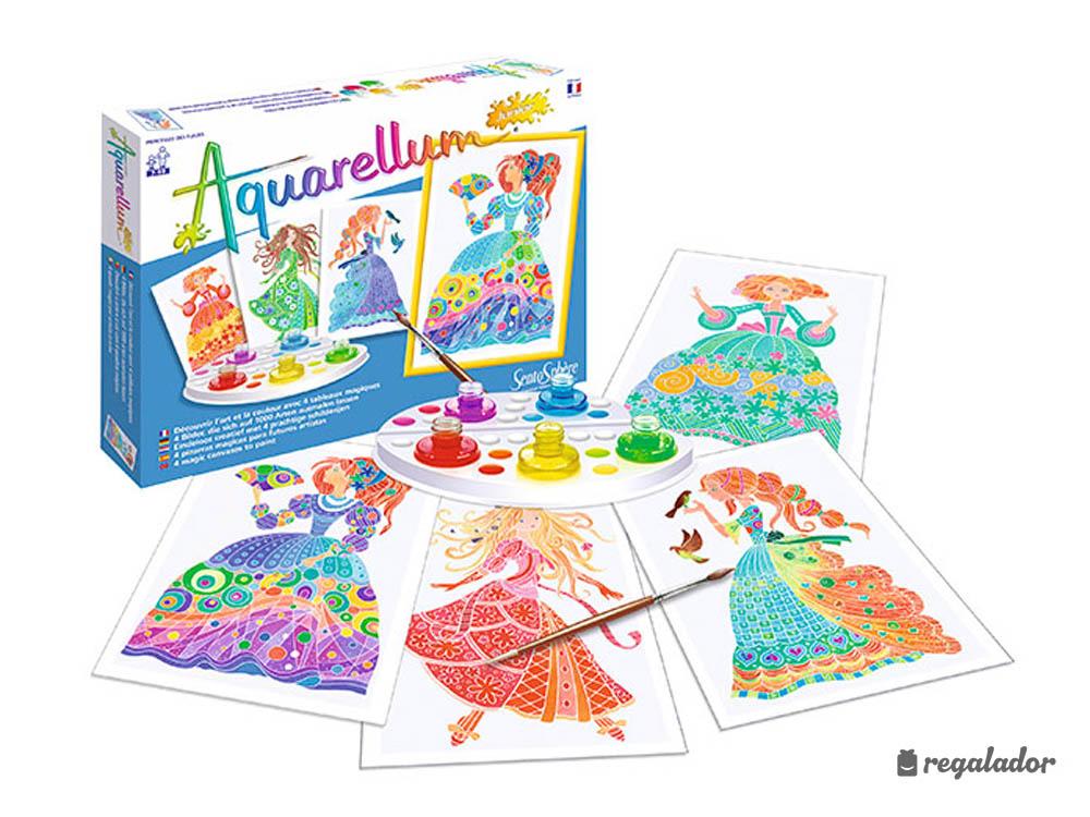 Aquarellum: el kit de acuarelas para pequeños pintores