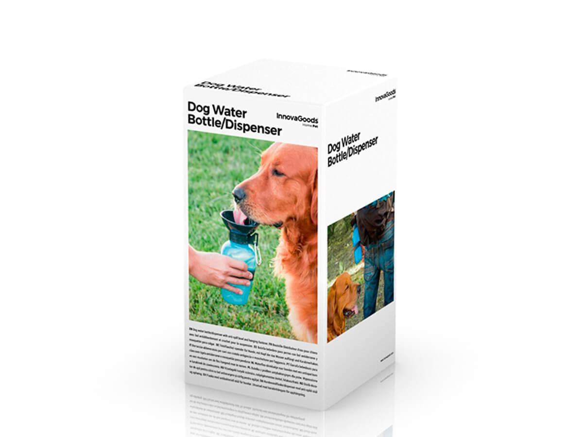 Botella bebedero para perros