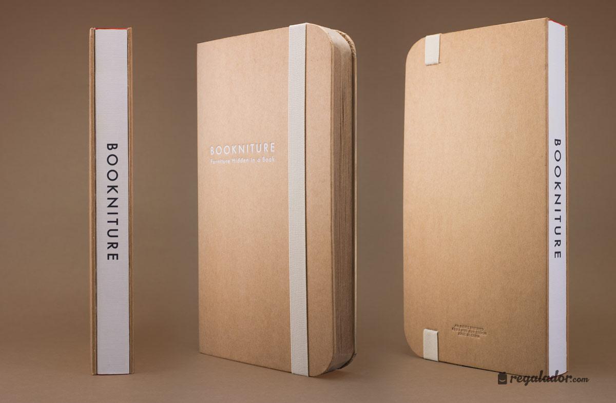 Bookniture el mueble que se convierte en libro en for Mueble que se convierte en cama