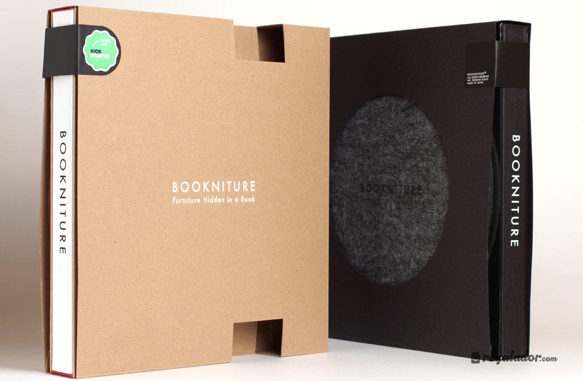 Bookniture: el mueble que se convierte en libro