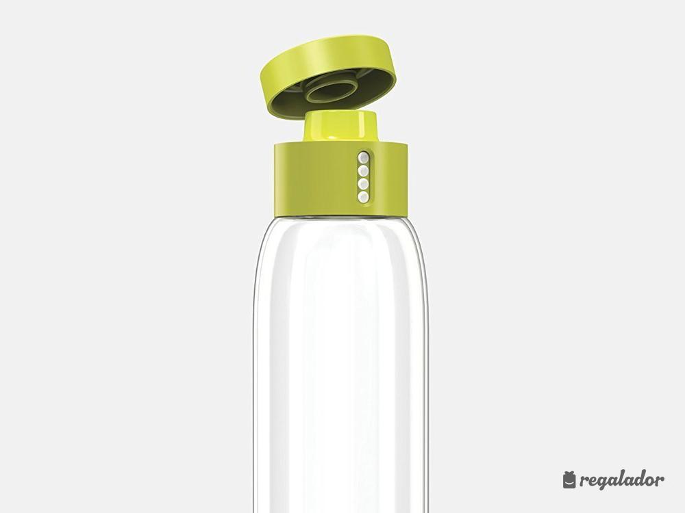La botella que te ayuda a estar hidratado