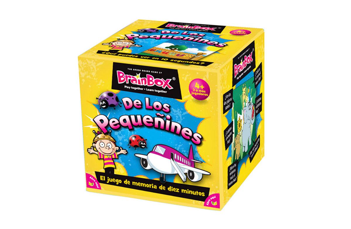 Brainbox, juego de memoria para pequeñines