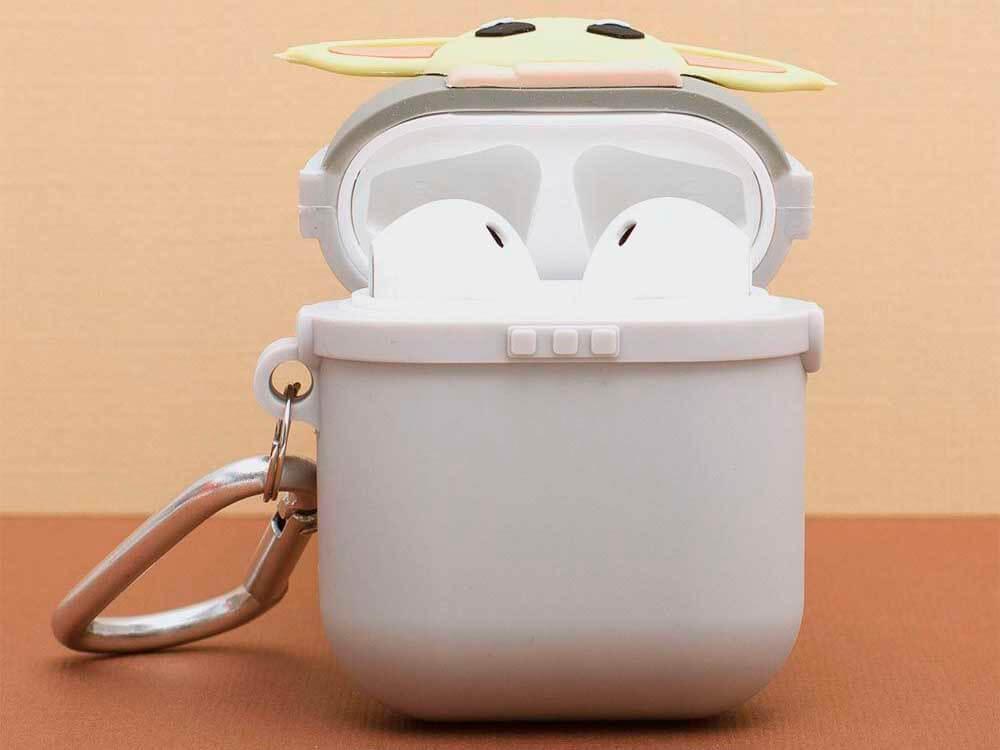Estuche de carga para Air Pods «Baby Yoda»