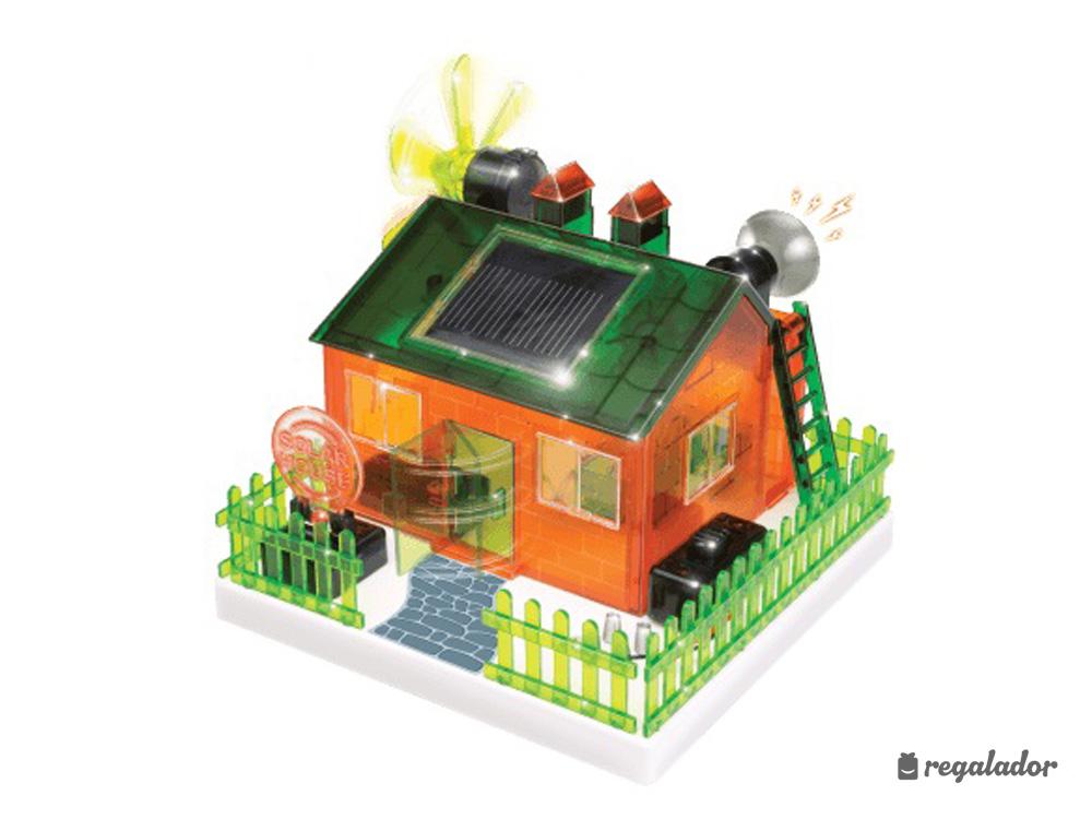 Kit para construir una casa con energ a solar en - Que vale construir una casa ...