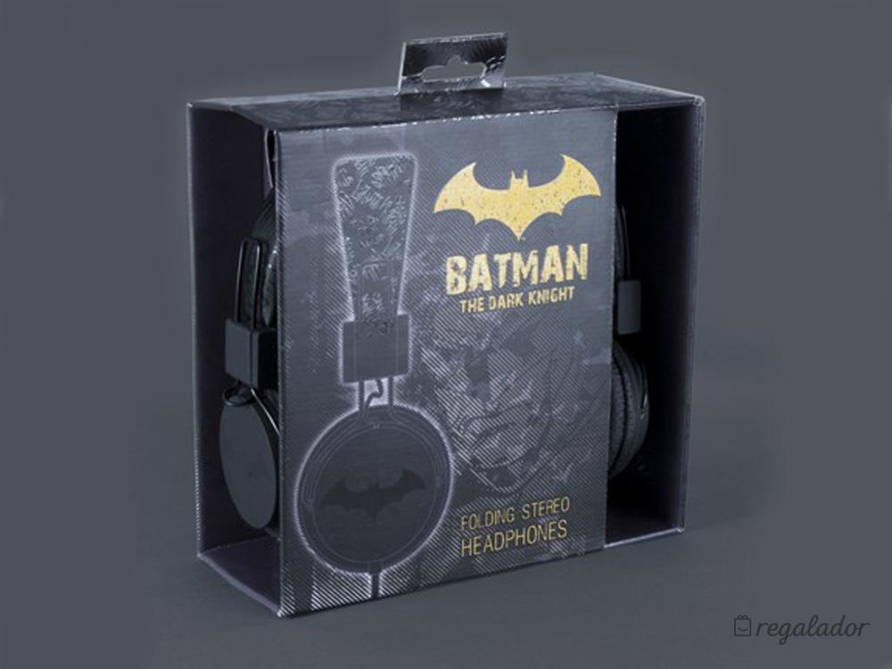Auriculares plegables para fans de Batman