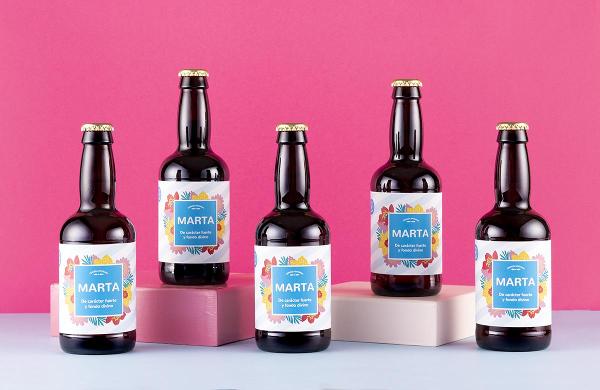 Pack de cerveza personalizada Modelo Tropical