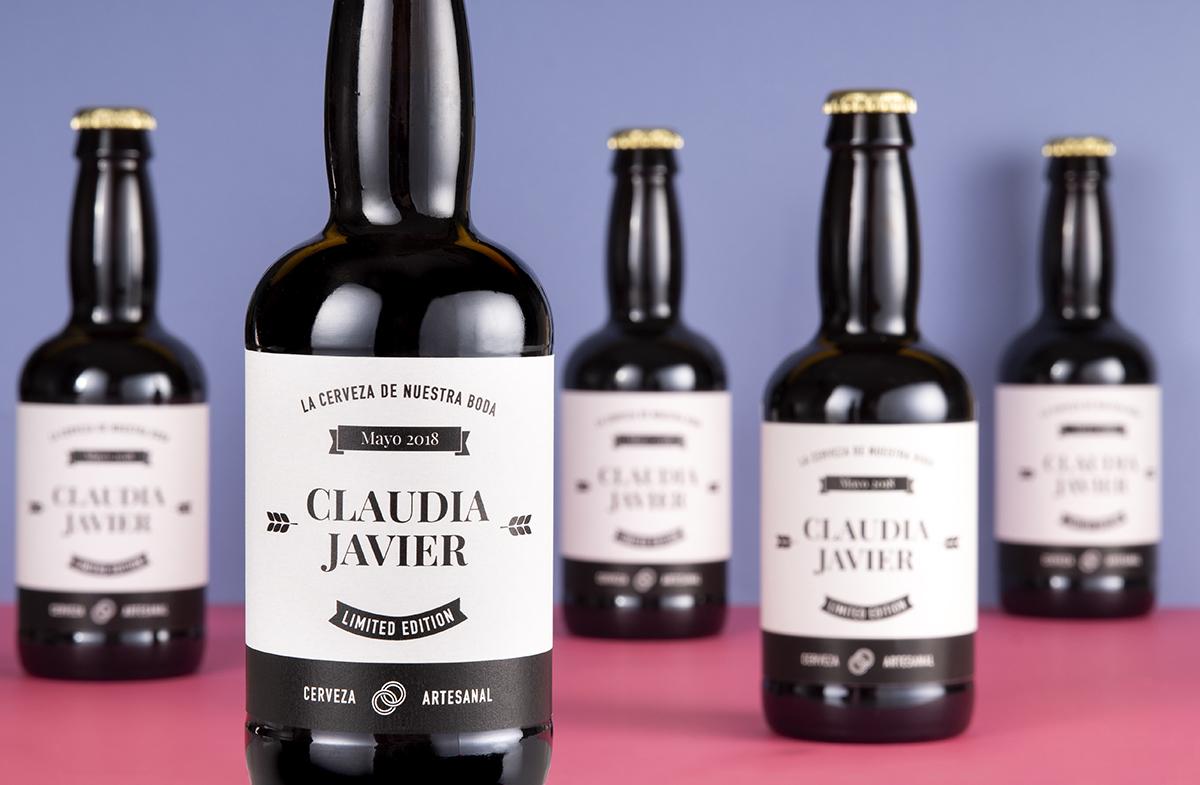 Pack de cervezas personalizables para parejas