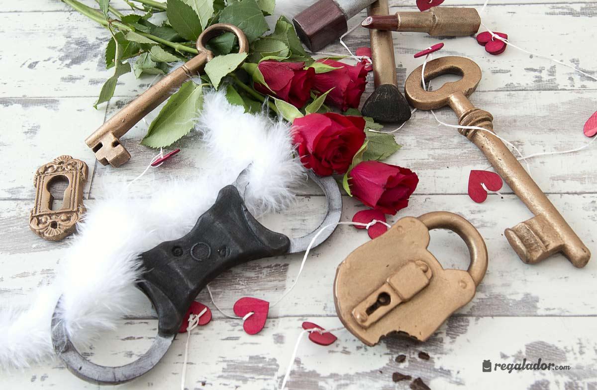 La llave de chocolate más romántica