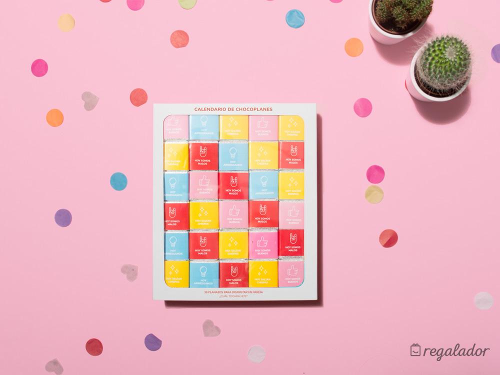Calendario de Chocoplanes: 30 planazos para parejas