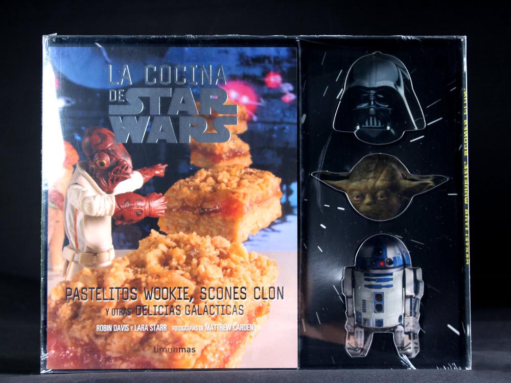 La cocina de star wars con moldes en for Utensilios de cocina star wars