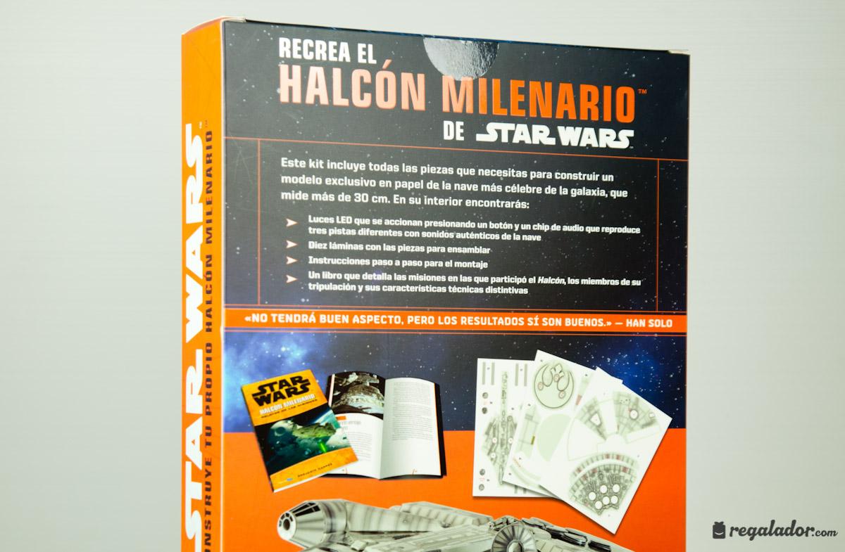 """Pack """"Construye tu propio Halcón Milenario"""""""