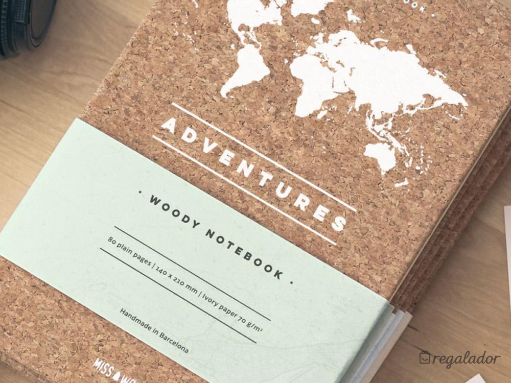 Cuaderno de notas para aventureros en - Corcho proyectado opiniones ...