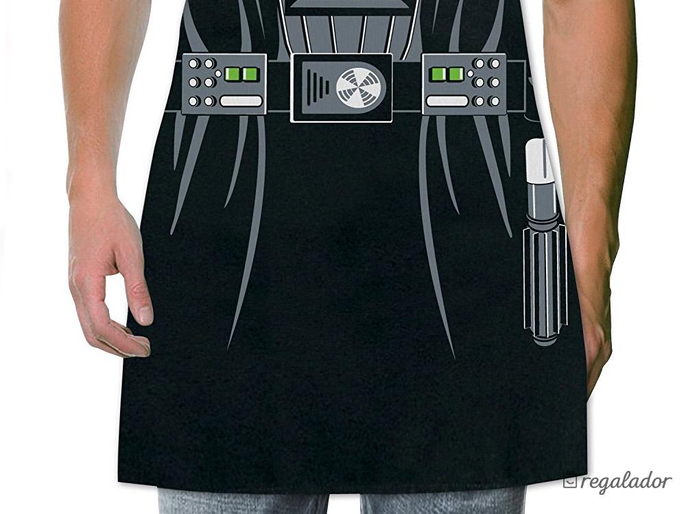 Delantal de Darth Vader para fans de Star Wars