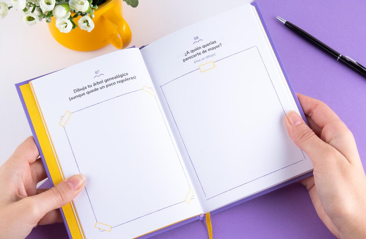 El diario personalizado para compartir con tu abuela