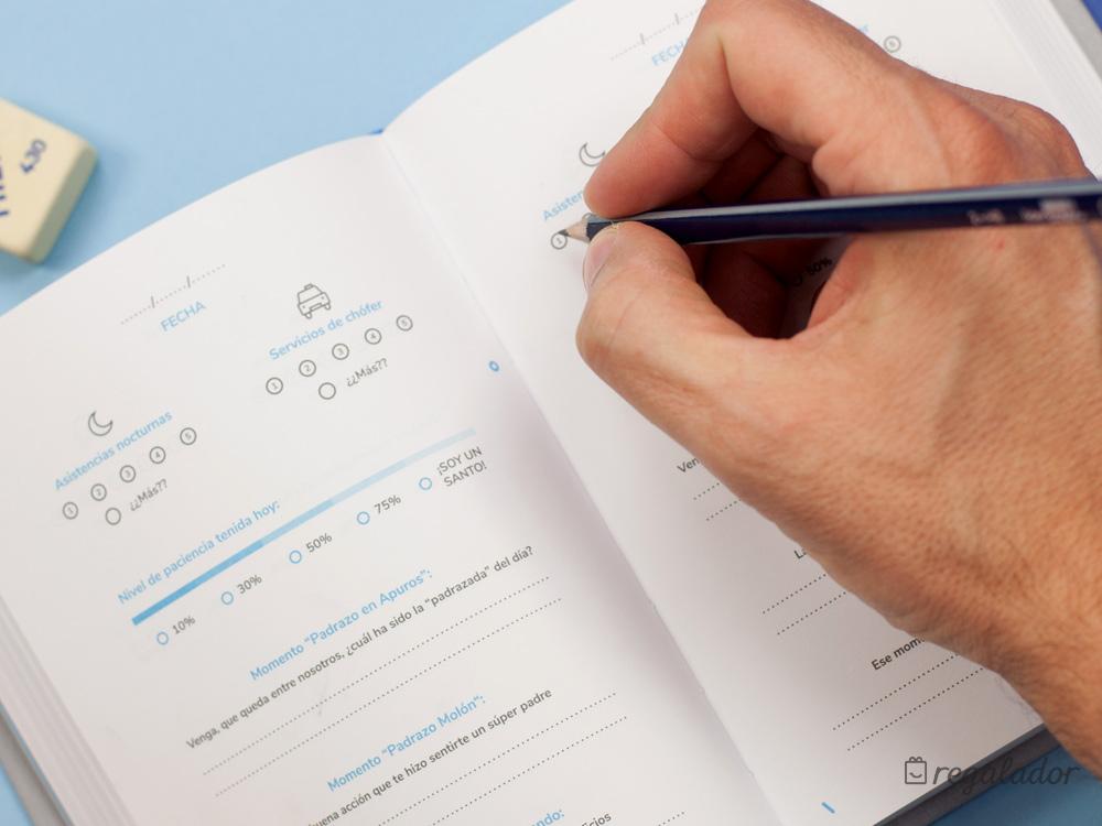 Diario de un padrazo: cuenta tus hazañas en 3 minutos al día