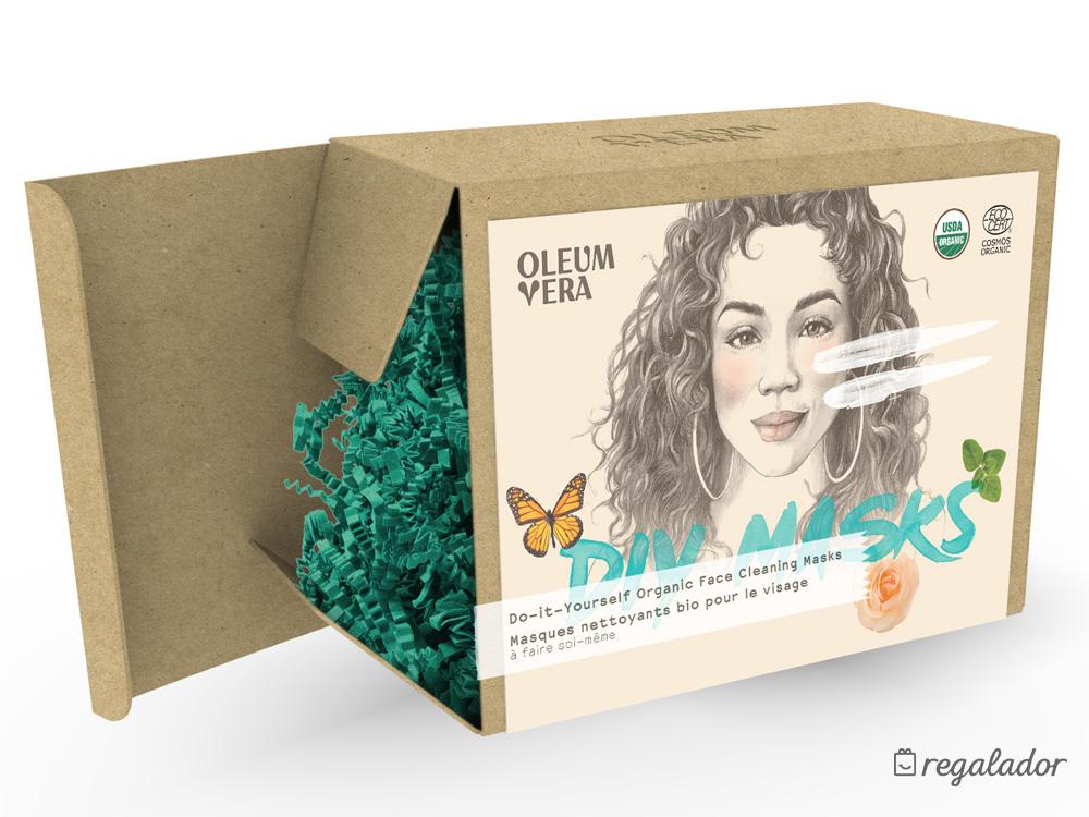 Kit DIY de mascarillas orgánicas