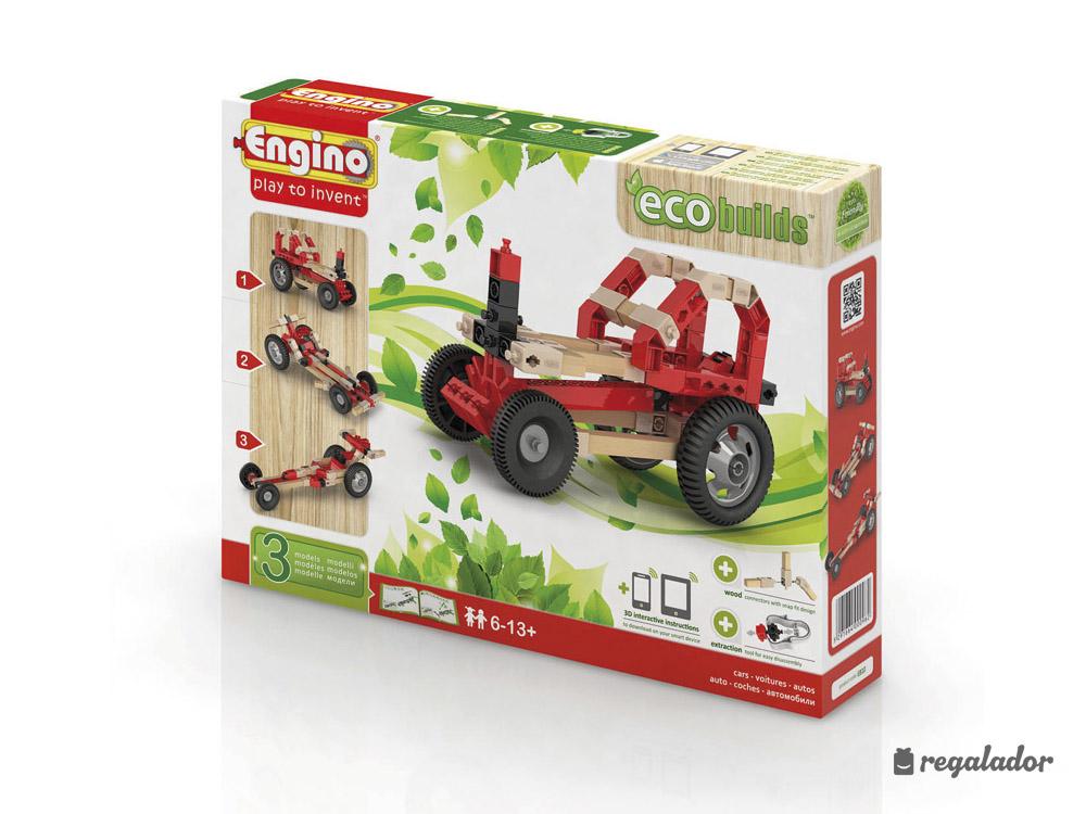 Juegos ecológicos de construcción de transportes
