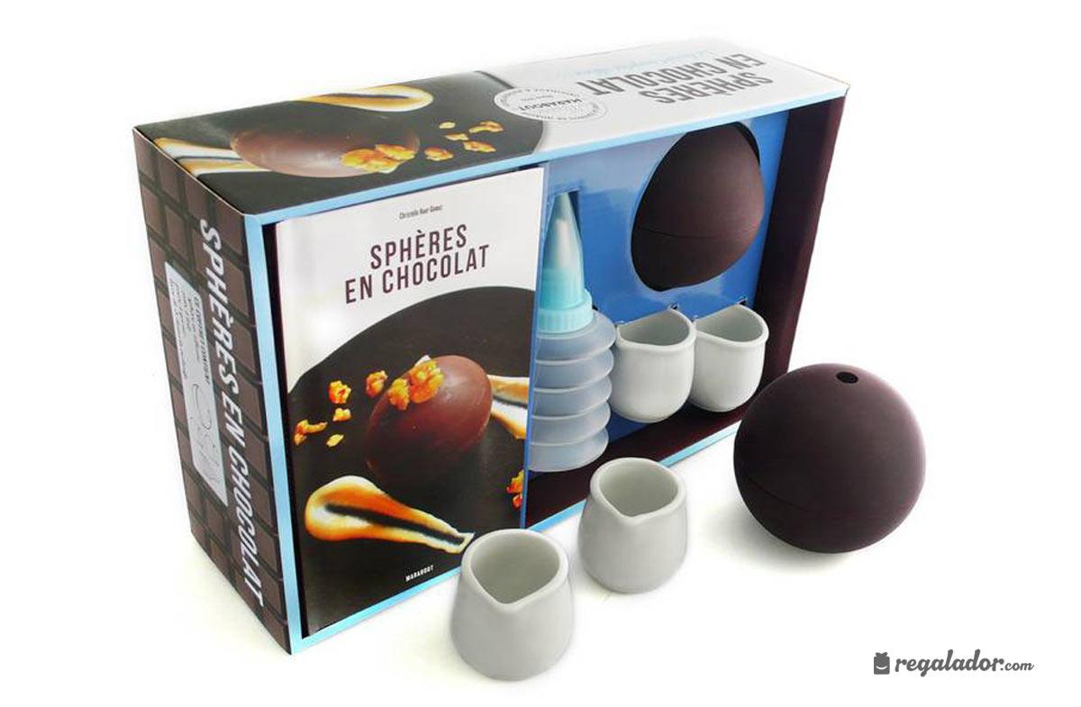 """Kit """"Esferas de chocolate"""": la última delicia en postres"""