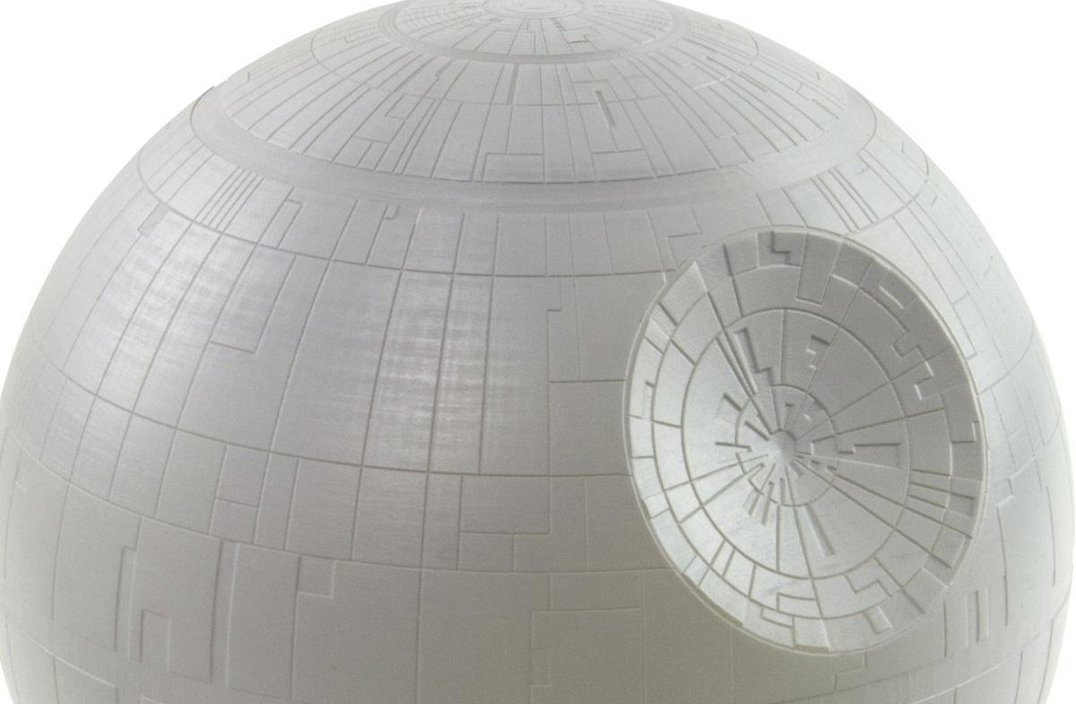"""Lámpara de mesa """"Estrella de la Muerte"""" de Star Wars"""