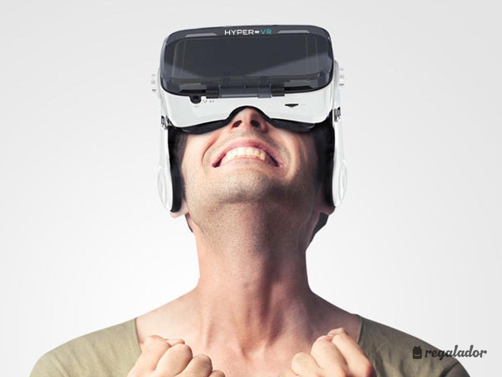 Gafas 3D de realidad virtual con auriculares integrados en Regalador.com