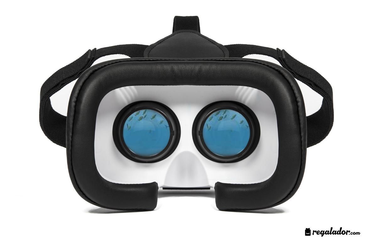 Gafas de realidad virtual para disfrutar contenidos 3D