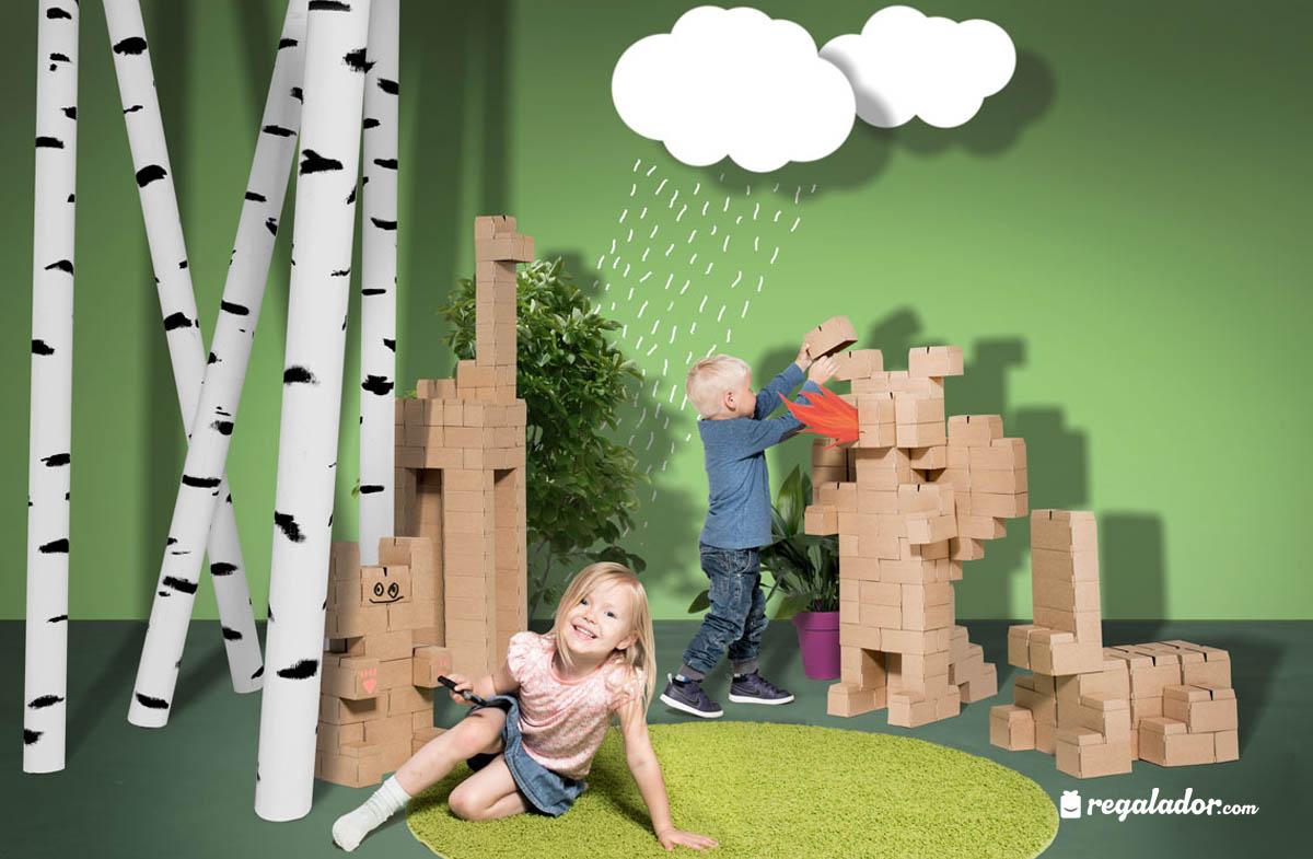 GIGI bloks: los bloques XXL de construcción más creativos