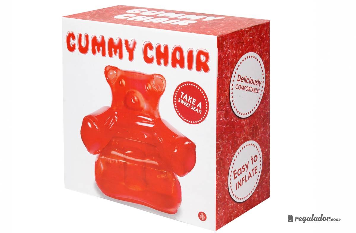 Gummy Chair: el sillón con forma de osito de gominola