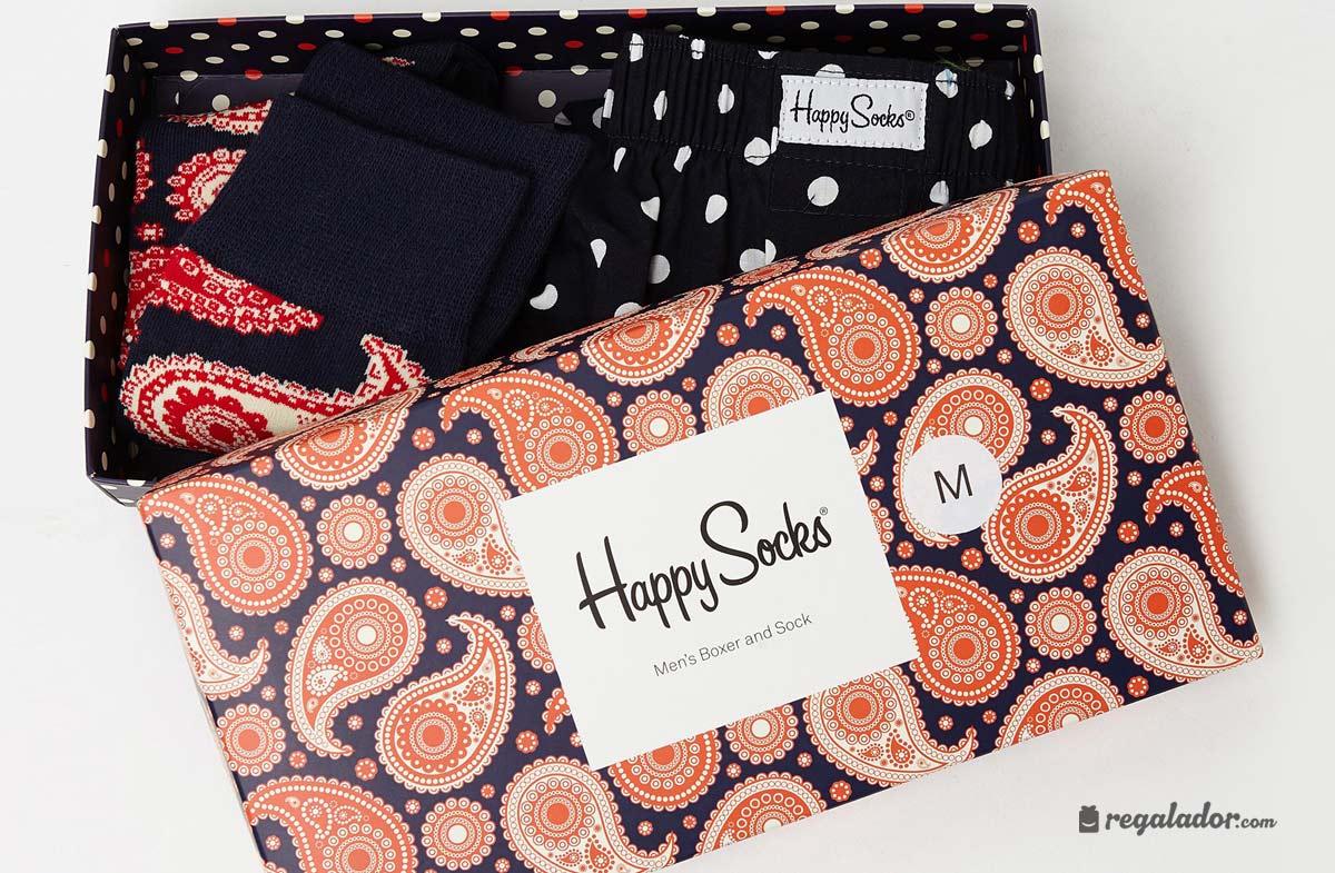Regalador caja regalo para hombre con boxer y calcetines for Regalos diferentes para hombres