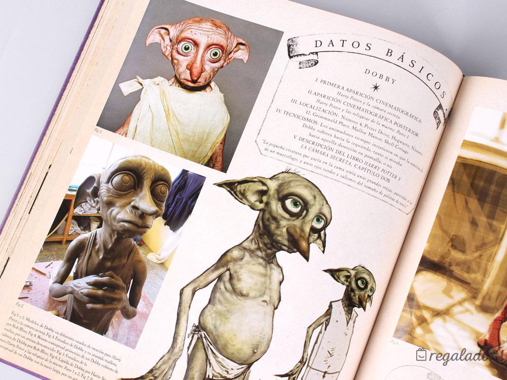 Harry Potter: Grandes libros con los personajes y criaturas