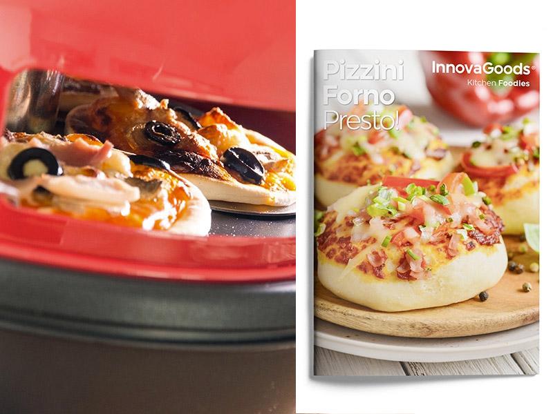 Horno para mini pizzas