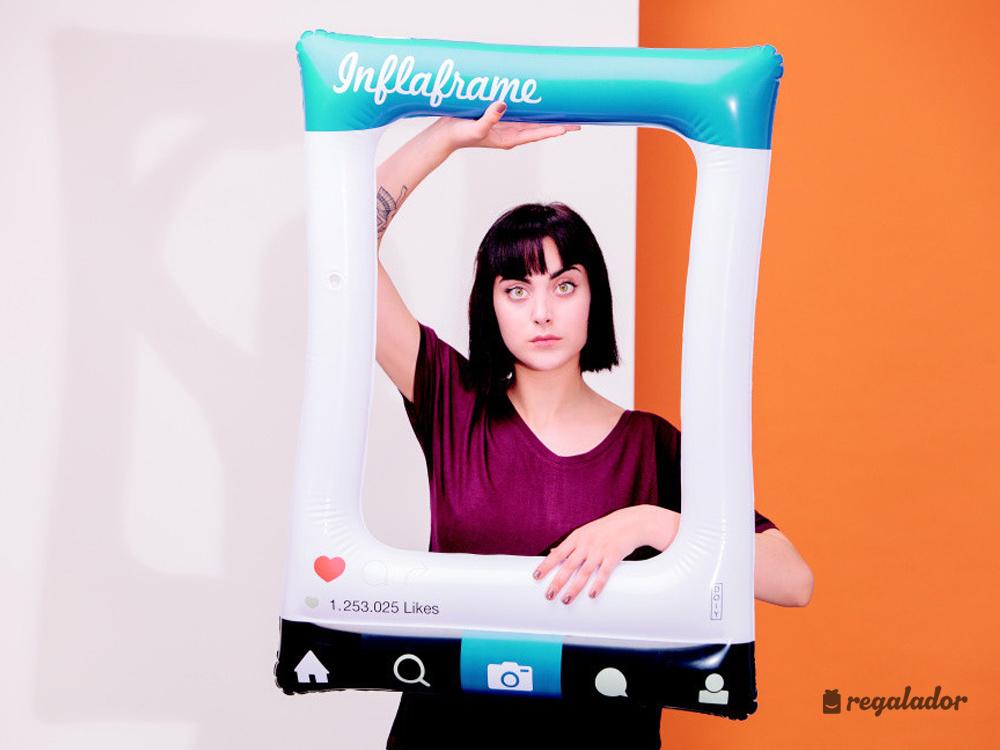 Inflaframe: el marco de instagram hinchable en Regalador.com