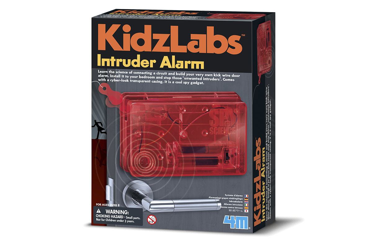 Kit para construir tu alarma anti-intrusos