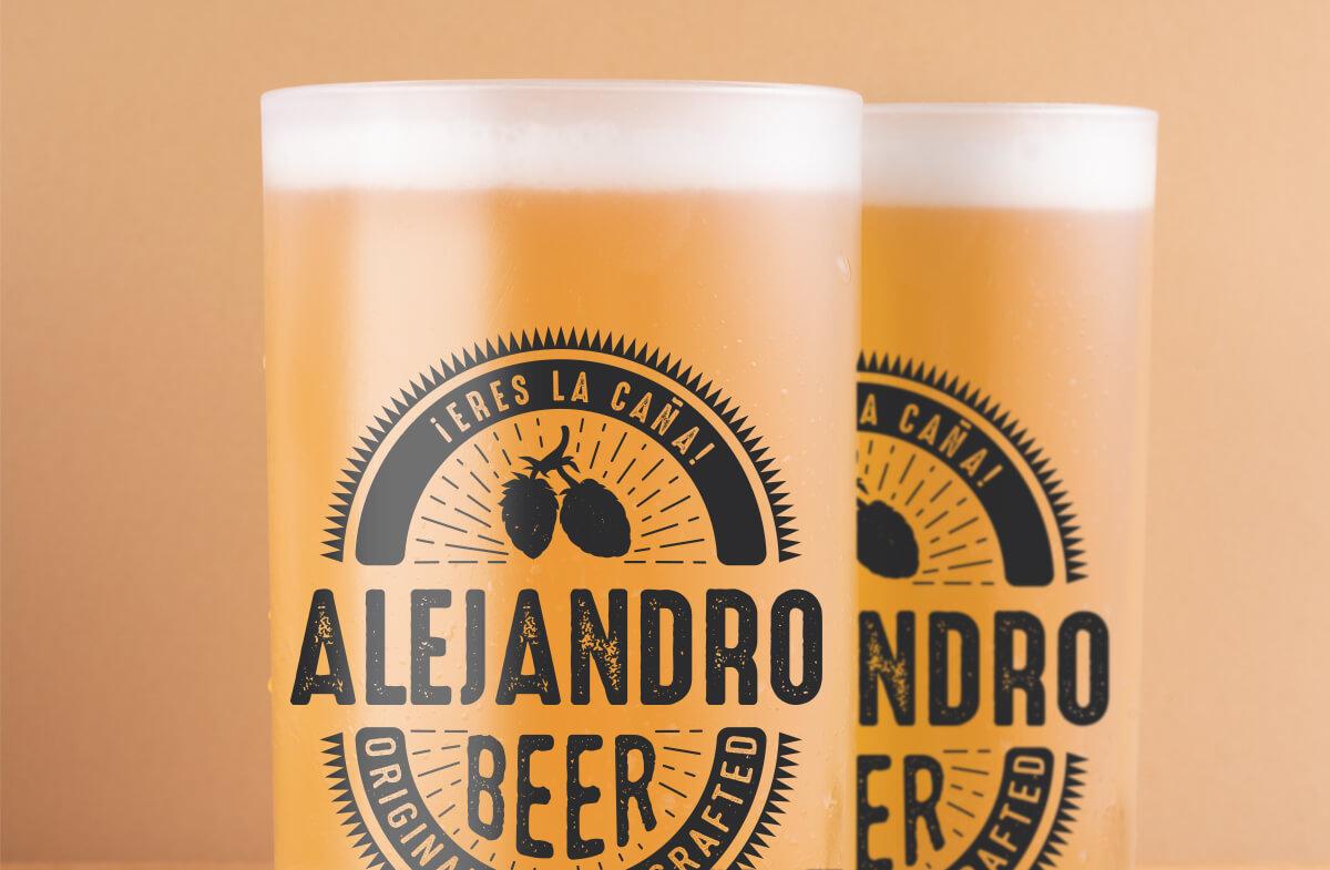 Jarras cerveza personalizadas, «Eres la caña»