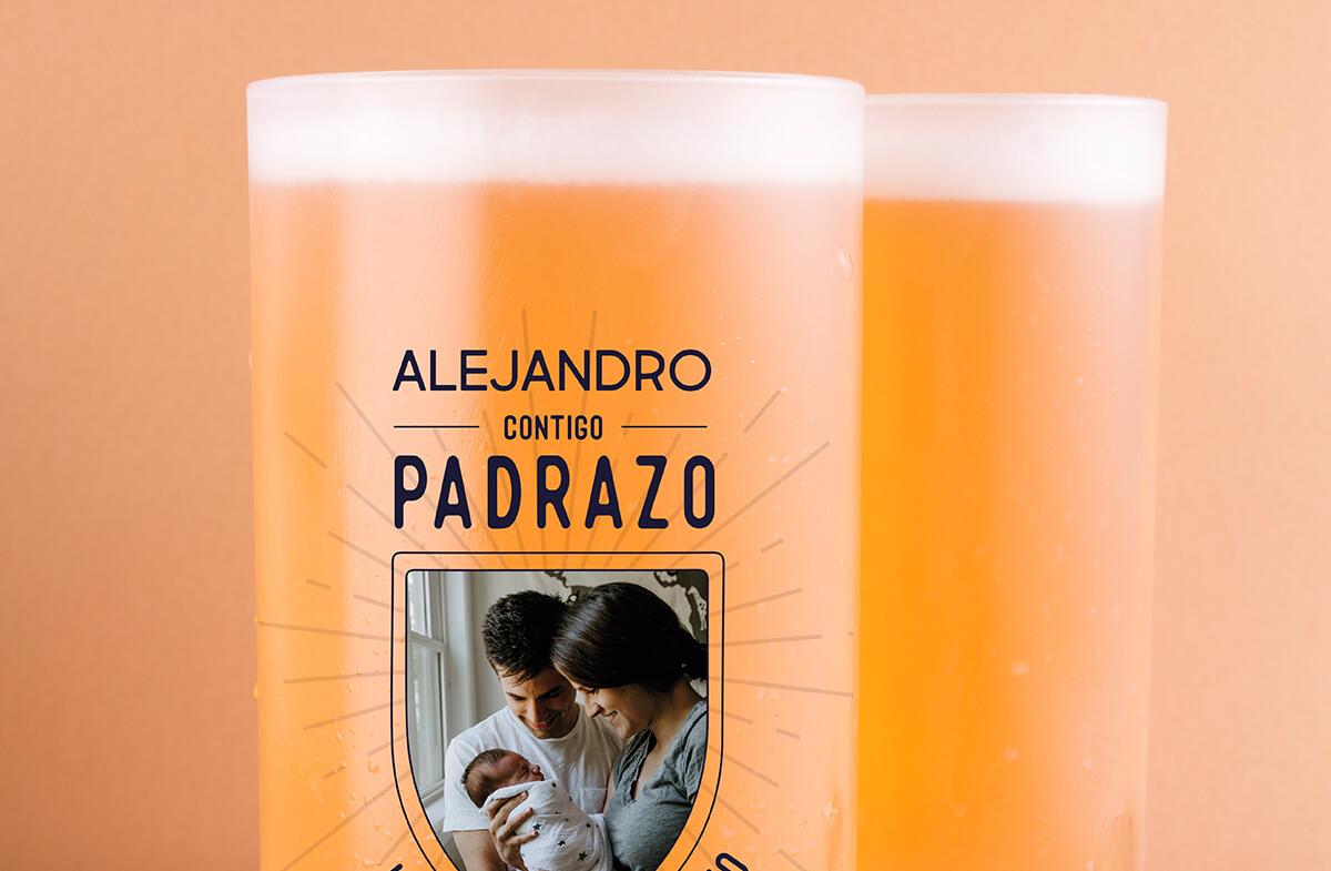 Jarras cerveza personalizadas, Padrazo-Equipazo