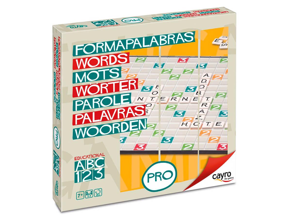 «Formapalabras Pro» el juego de la palabras cruzadas