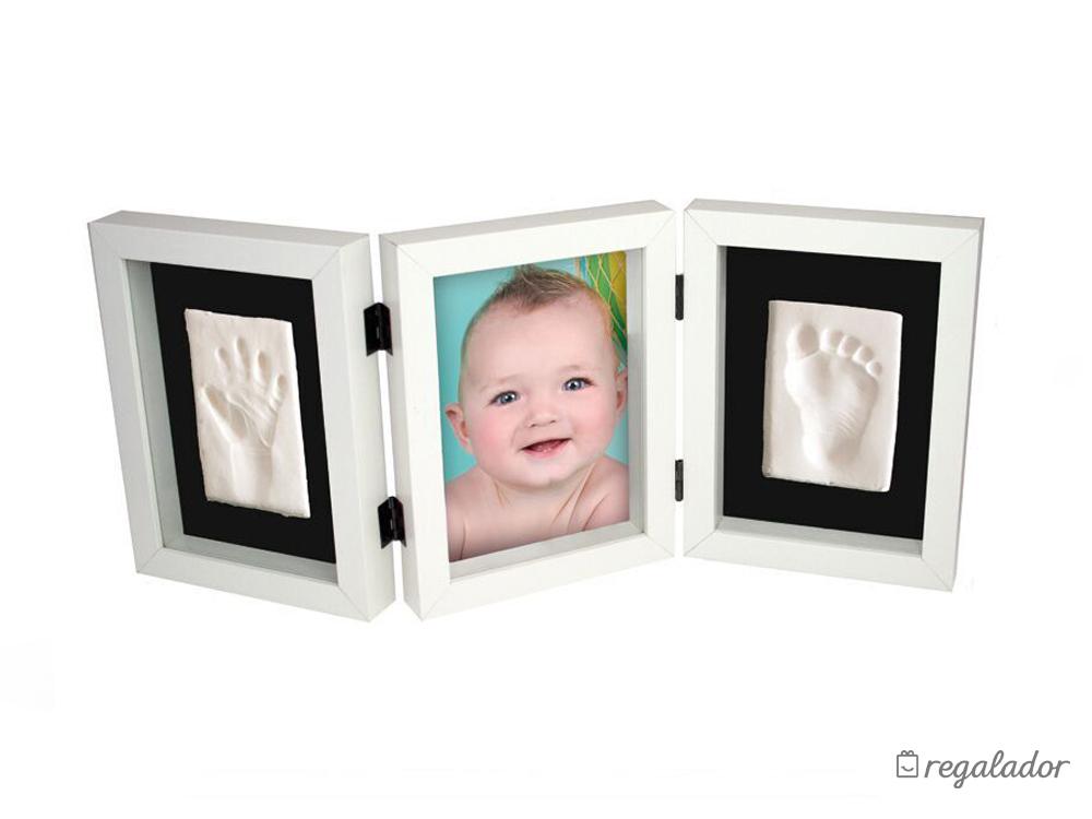 Marco con la huella y la foto de tu bebé de Kidzzcast en Regalador.com