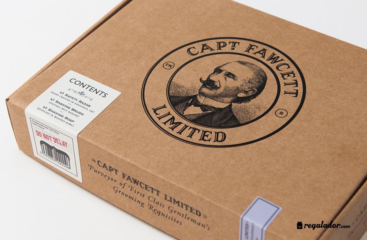"""""""Captain Fawcett"""": tradición y lujo en el afeitado"""
