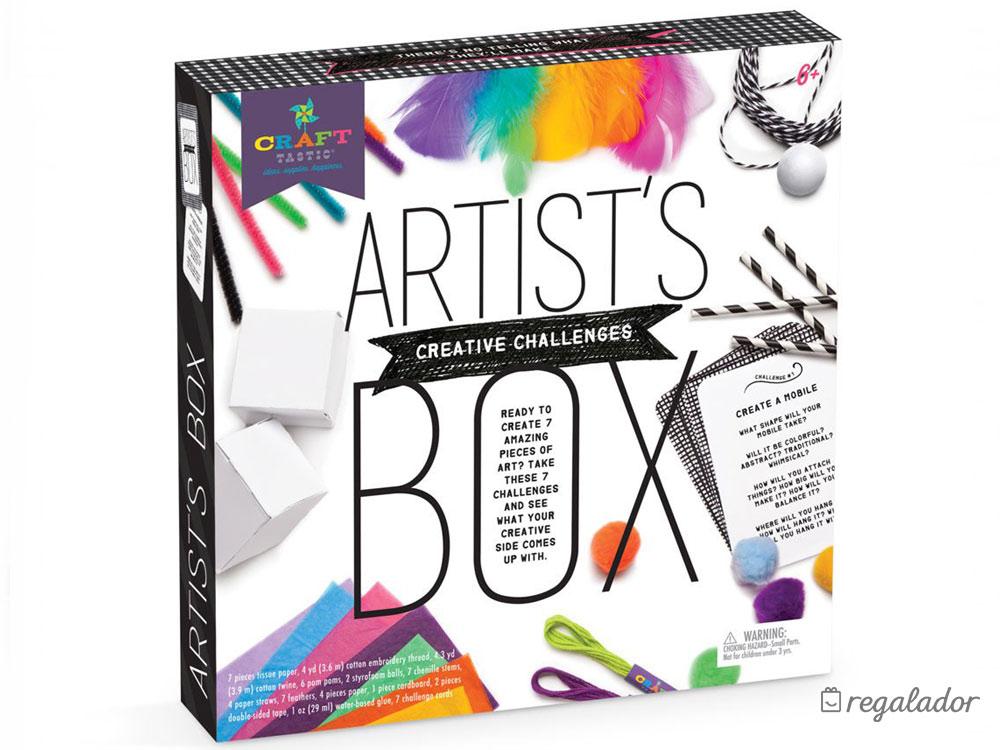 Kit esencial para pequeños artistas